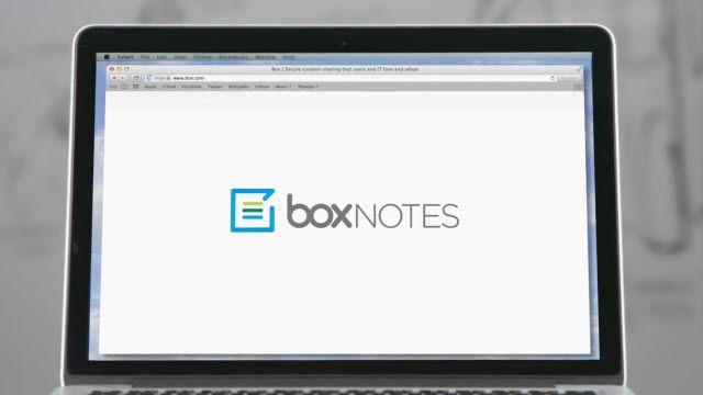 Box Notes Tanıtım Videosu