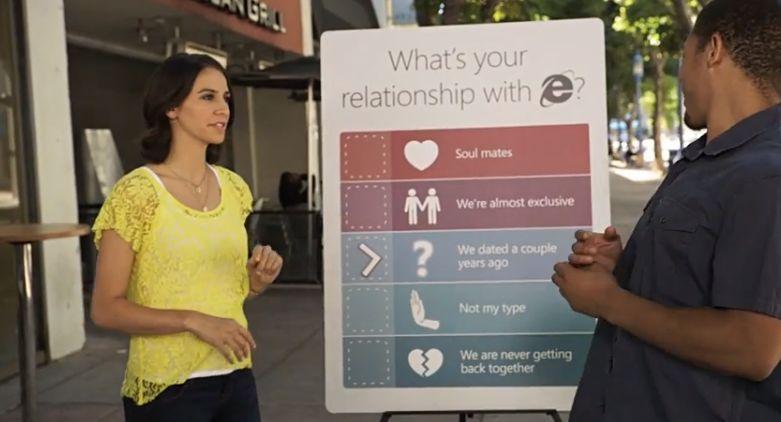 Internet Explorer Reklam Kampanyası Videosu