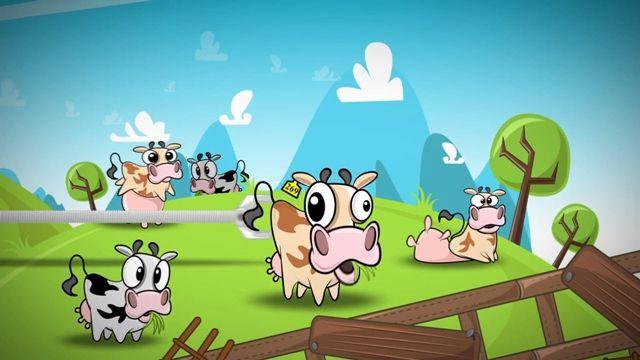 Run Cow Run Android Oyununun Tanıtım Videosu