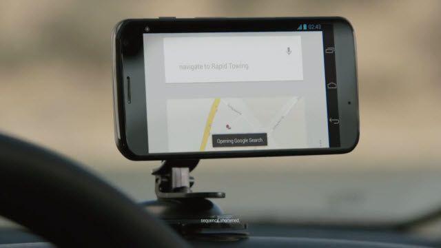 Moto X - Navigasyon Sistemi