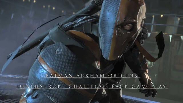 Batman: Arkham Origins Deathstroke Challenge Pack Oynanış Videosu