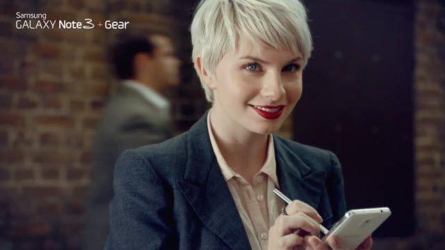 Samsung GALAXY Note 3 Televizyon Reklamı