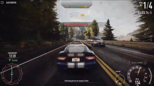 Need for Speed Rivals - Gelişim ve Kovalamaca