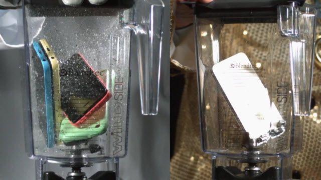 iPhone 5S ve 5C'nin Blenderla İmtihanı