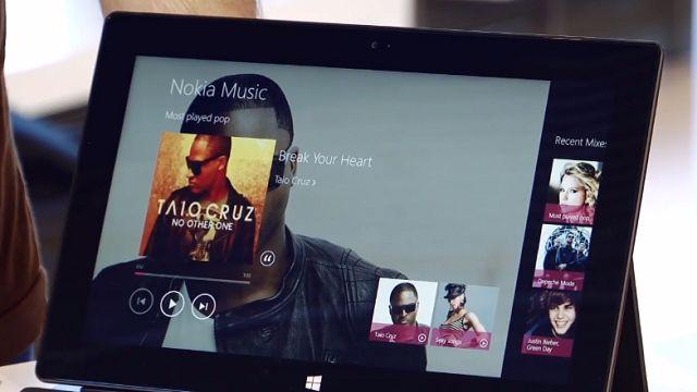 Windows 8 için Nokia Müzik Tanıtım Videosu
