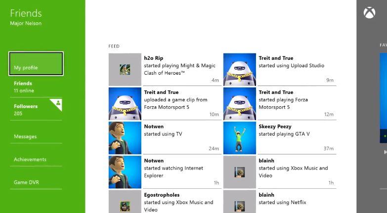 Xbox One Arkadaşlar Uygulaması Tanıtım Videosu