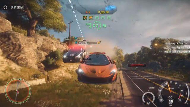 Need for Speed: Rivals - Sürüş Özellikleri