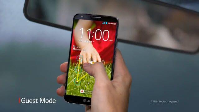 LG G2: Misafir Modu TV Reklamı