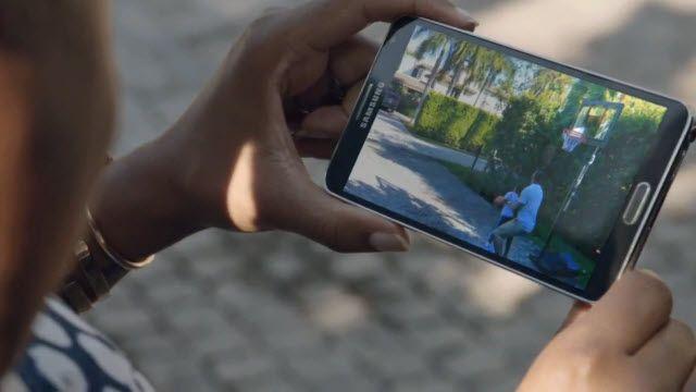 LeBron James'li Samsung Galaxy Reklamı