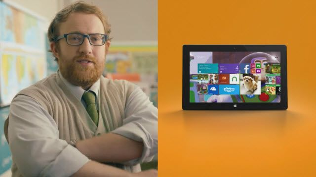 Surface 2 Tablet Reklam Videosu