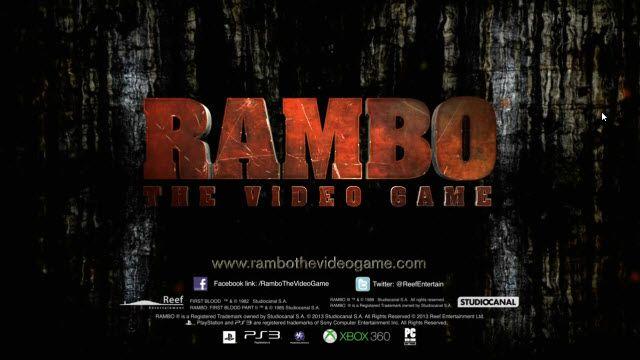 Rambo Oyunundan Oynanış Videosu