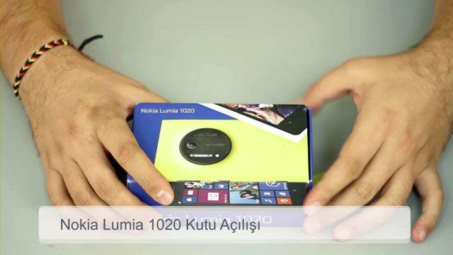 Nokia Lumia 1020 Kutu Açılışı
