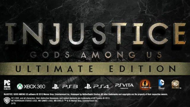 Injustice: Gods Among Us - Ultimate Edition Çıkış Videosu