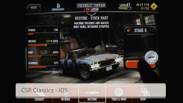 CSR Classics Oyun İncelemesi