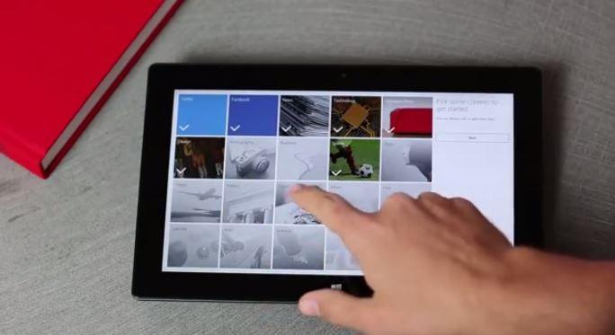 Flipboard Windows 8.1'de