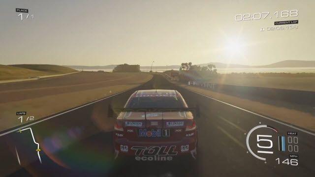 Forza Motorsport 5 Bathurst Pisti Oynanış Videosu