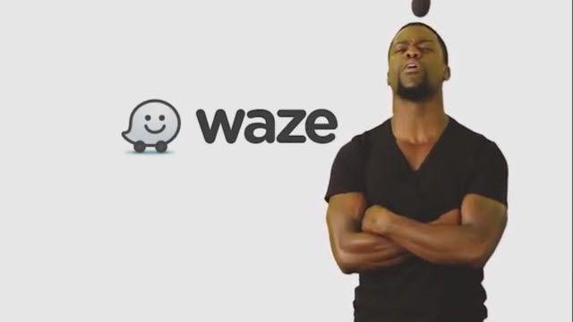 Waze için Yeni Seslendirmeler Kevin Hart'tan Geldi