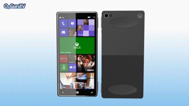 Xbox One Akıllı Telefon Konsepti