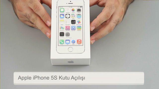 Apple iPhone 5S Kutu Açılışı