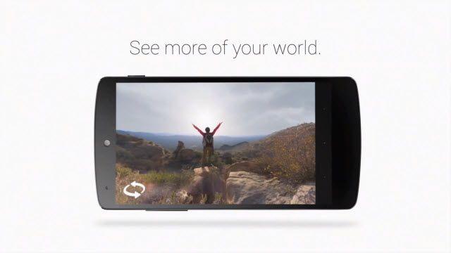 Nexus 5 ve Photo Sphere Özelliği
