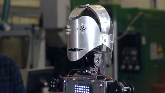 Dans Edebilen Robot ''Robyn'' Projesi