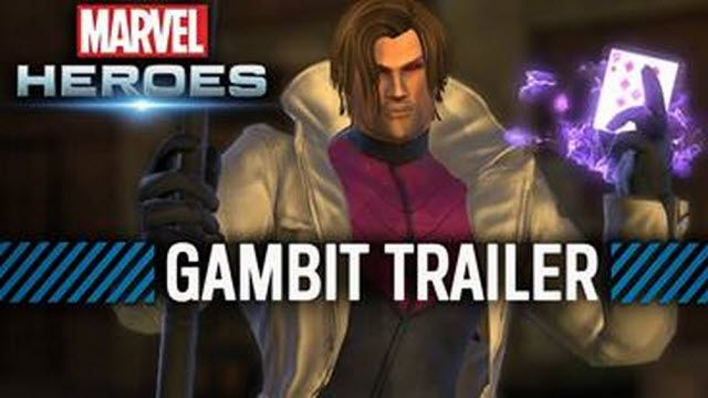 Marvel Heroes - Gambit Tanıtım Videosu