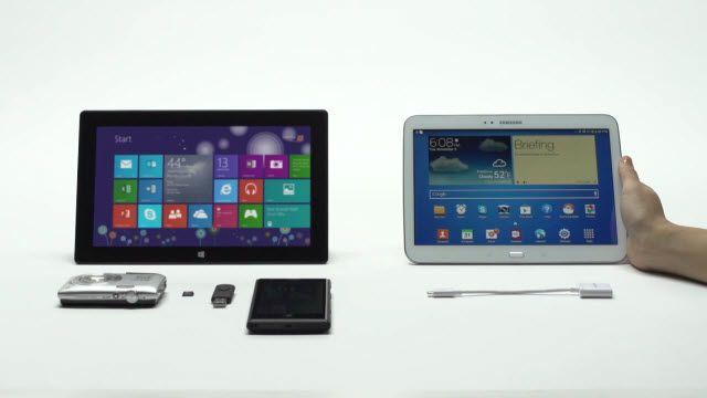 Microsoft Bu Sefer Samsung'a Saldırdı