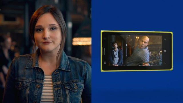 Yeni Lumia 1020 Reklamı Kamera Özelliklerine Değindi