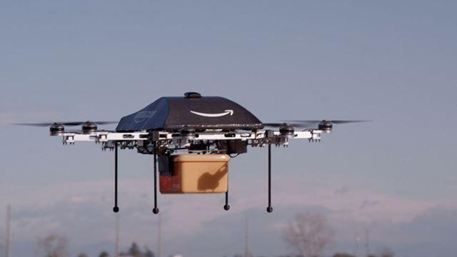 Amazon Prime Air Servisi ile Siparişlerinizi Kanatlandırıyor
