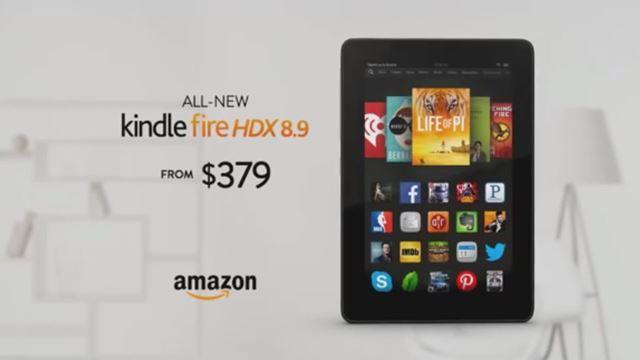 Amazon Yeni Tablet Reklamında iPad'i Yerden Yere Vurdu