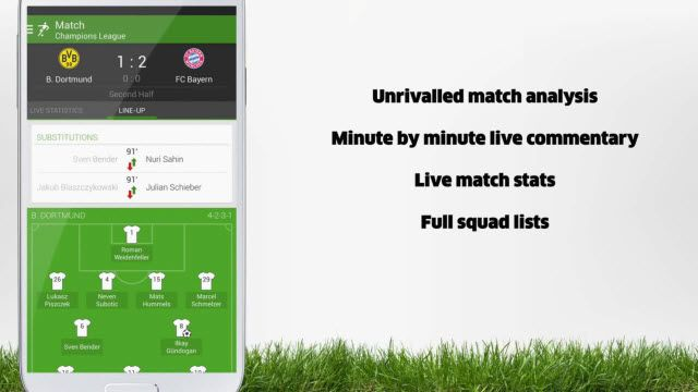 The Football App Artık Türkçe!