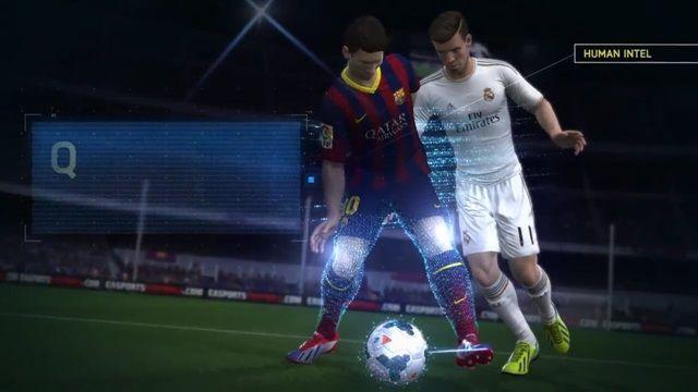 FIFA 14'ün PS 4 ve Xbox One Versiyonlarında Kullanılan Yeni Mekanik