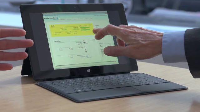 Surface Pro Bankalarda