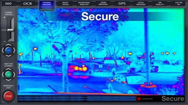 Güvenlik Robotu K5'in Tanıtım Videosu
