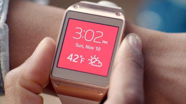 Samsung Galaxy Gear: Kaydırılabilir Arayüz Bölüm 6