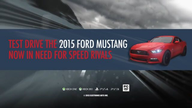 Need for Speed: Rivals'e 2015 Model Ford Mustang Dopingi