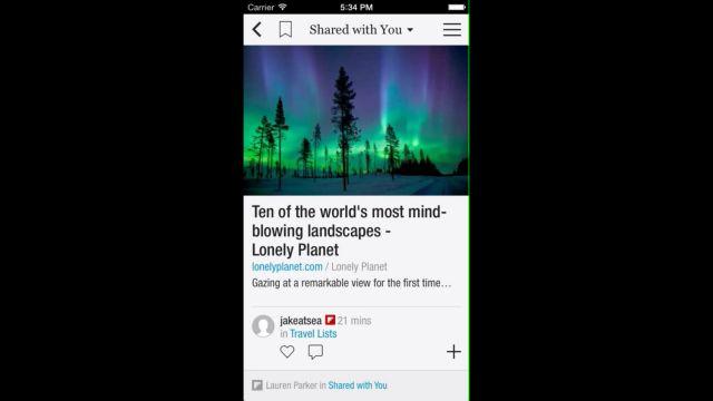 Flipboard iOS'ta Arkadaşlarınıza Direkt Gönderi Olanağı