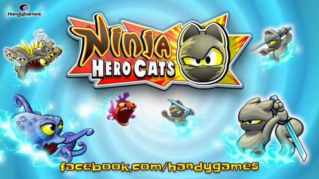 Ninja Hero Cats ile Eğlenceli ve Zorlu Bir Macera Sizleri Bekliyor
