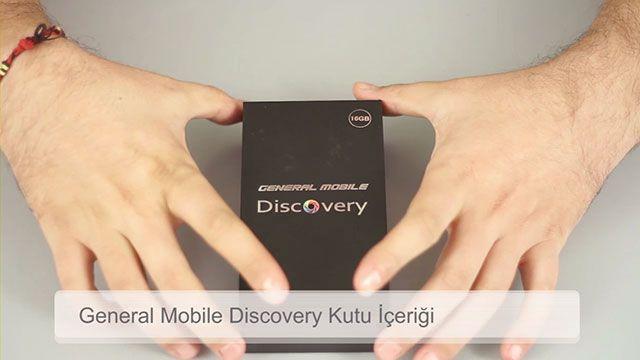 General Mobile Discovery Kutu Açılışı