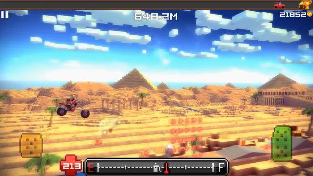Blocky Roads Tanıtım Videosu