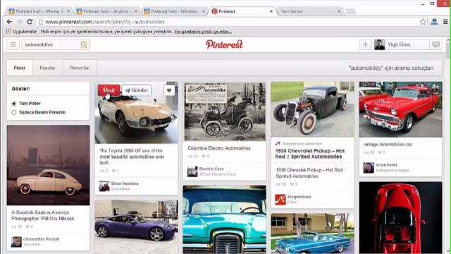 Pinterest Nasıl Kullanılır?