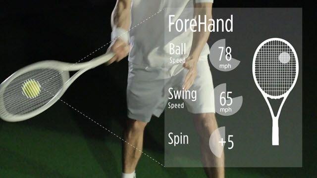 Sony'den Akıllı Tenis Sensörü ve Uygulaması