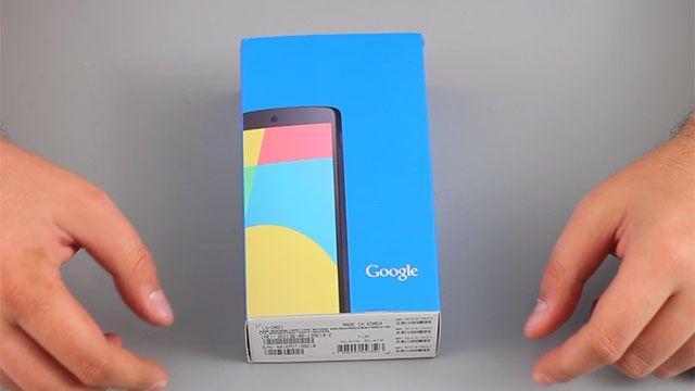 Google Nexus 5 Kutu Açılışı