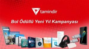 Tamindir'den Bol Ödüllü Yeni Yıl (2017) Kampanyası (Kazananlar Açıklandı)