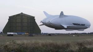 Dünyanın En Büyük Hava Aracı İkinci Uçuşunda Yere Çakıldı