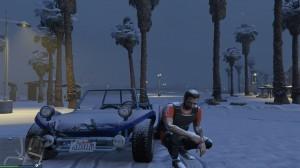 GTA 5 Snow Mod