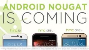 HTC'den One M9, One A9 ve HTC 10 Kullanıcılarına Android 7.0 Nougat Müjdesi!