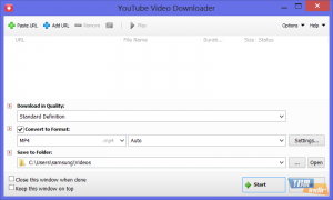 Tomabo YouTube Video Downloader
