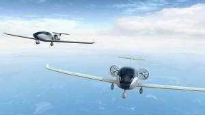 Türk ve Japon Mühendislerden Uçan Elektrikli Araç