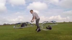 Hiçbir Mühendilik Bilgisi Olmayan Adam Uçan Bisiklet Yaptı